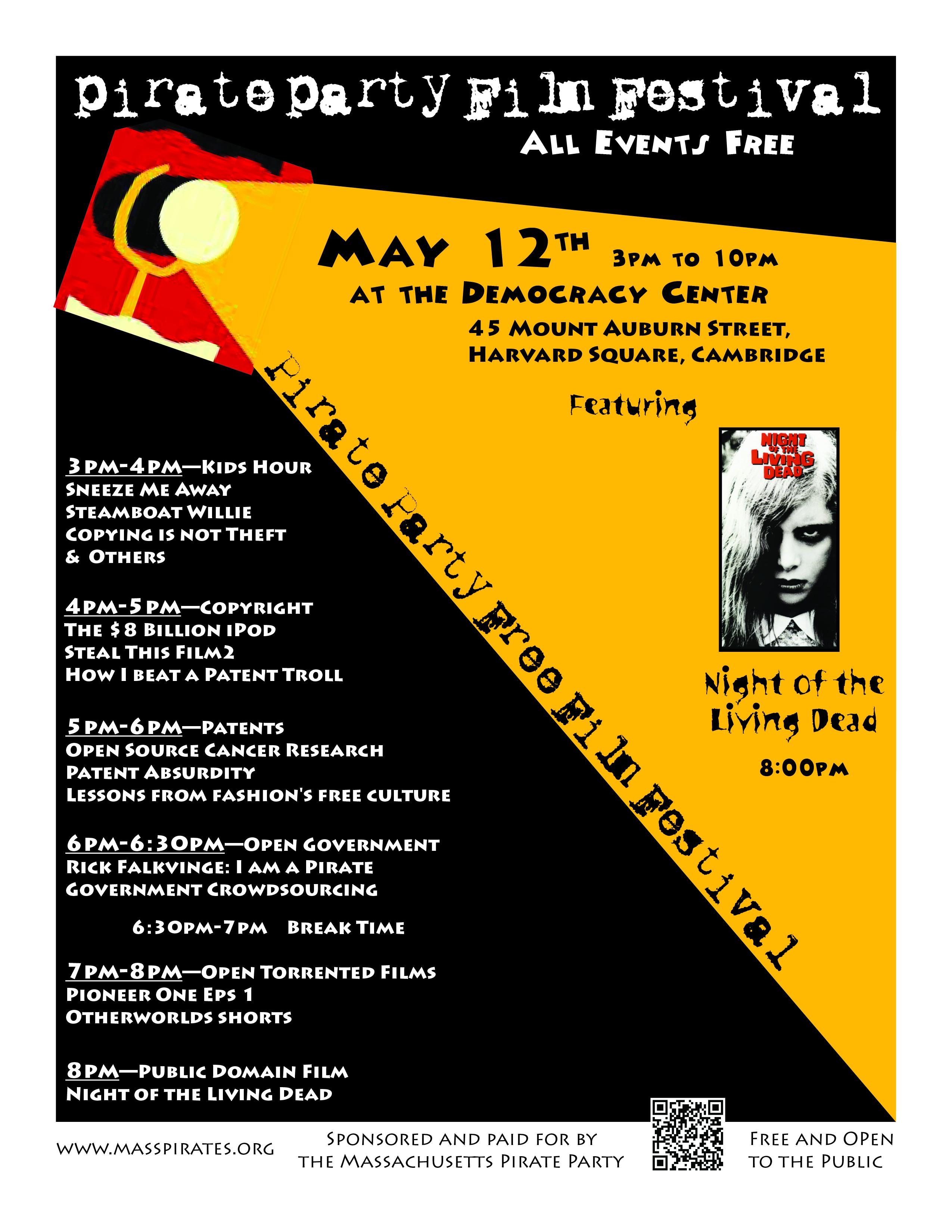Free Film Festival Poster