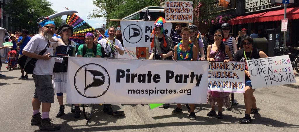 March in the Boston Pride Parade this Sat.