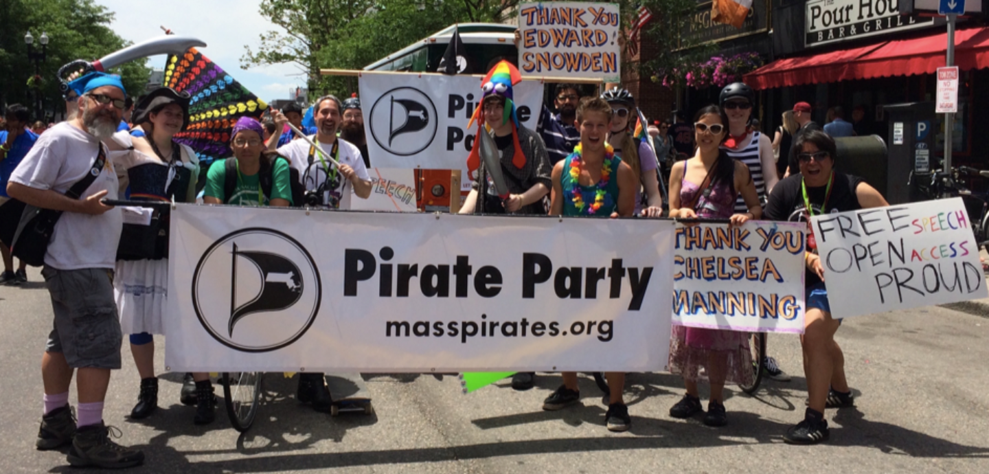 Pirate News: Openness and Surveillance