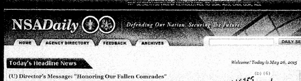 NSA Daily Banner